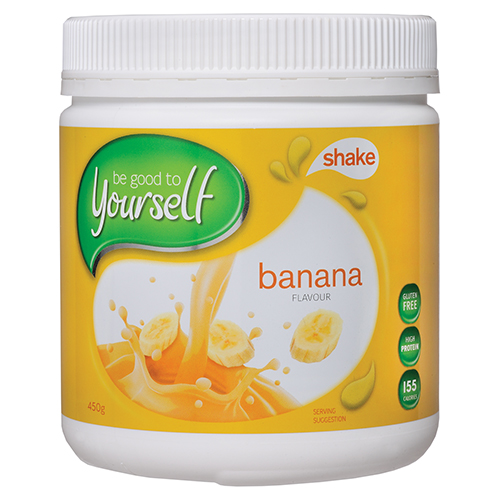 Image for Be Good To Yourself Shake Banana Tub - 450g from Amcal