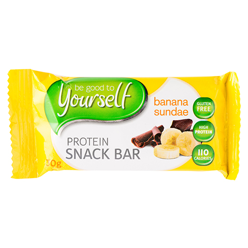 Image for Be Good To Yourself Snack Bar Banana Sundae - 30g from Amcal