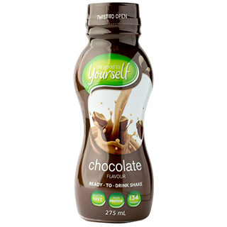 Image for Be Good to Yourself  Ready To Drink Shake Chocolate - 275ml from Amcal