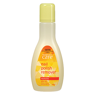 Pharmacy Care Nail Polish Remover Acetone - 125mL