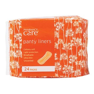 Image for Pharmacy Care Panty Liners - 24 Pack from Amcal