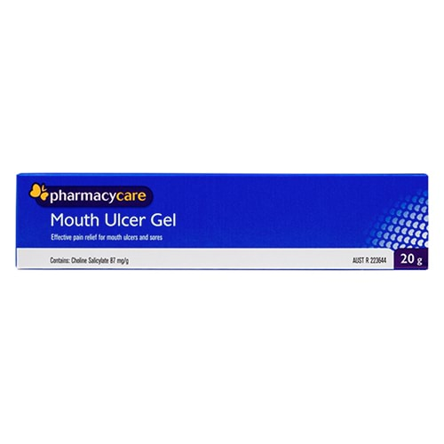 Image for Pharmacy Care Mouth Ulcer Gel - 20g from Amcal