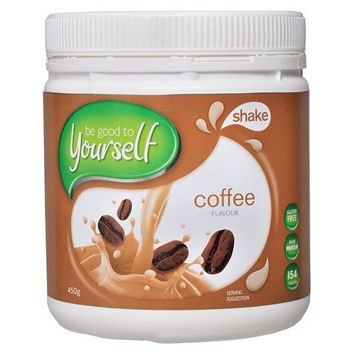 Image for Be Good To Yourself Shake Coffee Tub - 450g from Amcal