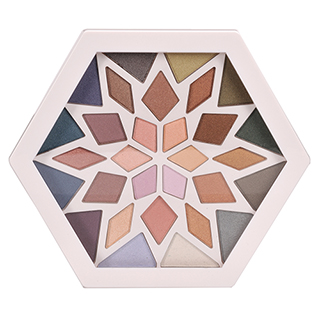 Image for Colour Theory Snowflake Eye Shadow Palette from Amcal