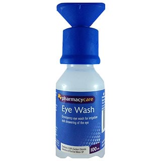 Image for Pharmacy Care Eye Wash - 100 mL from Amcal