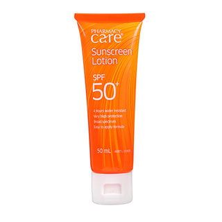 Image for Pharmacy Care Sunscreen Lotion SPF50 - 50mL from Amcal