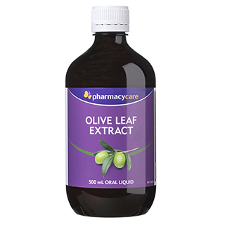 Image for Pharmacy Care Olive Leaf Extract - 500mL from Amcal