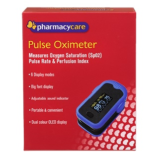 Image for Pharmacy Care Pulse Oximeter from Amcal