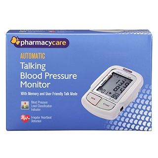 Image for Pharmacy Care Automatic Talking Blood Pressure Monitor from Amcal