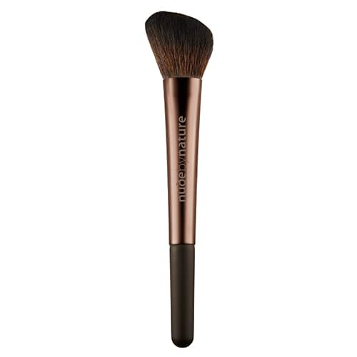 Image for Nude By Nature Angled Blush Brush from Amcal