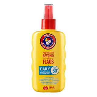 Image for Surf Life Saving Daily Finger Spray SPF50 - 200mL from Amcal