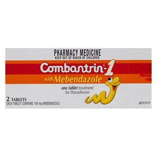 Image for Combantrin 1 - 2 Tablets from Amcal