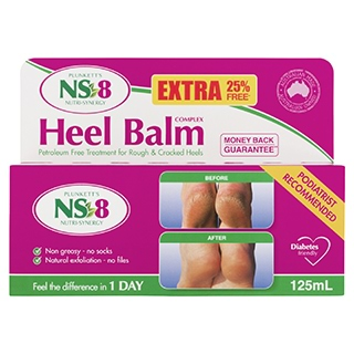 Image for NS-8 Heel Balm Complex - 125mL from Amcal