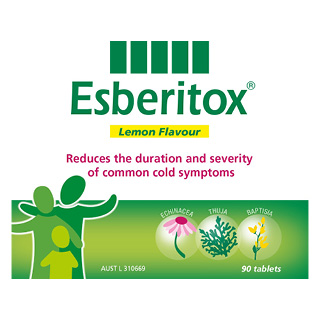 Image for Esberitox Lemon Chewable - 90 Tablets from Amcal