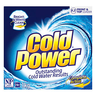 Image for Cold Power Regular One Form Laundry Powder - 1kg from Amcal