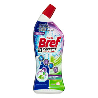 Image for Bref Toilet Gel Colour Change Indicator - 450ml from Amcal