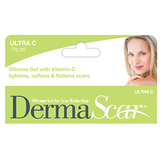Image for DermaScar Ultra Silicone Gel 1% Vitamin C - 15g from Amcal