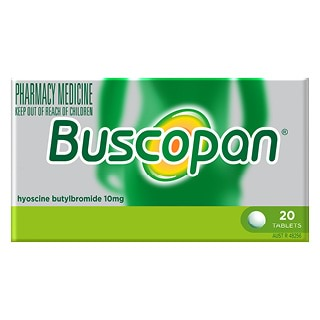 Image for Buscopan Tablets - 20 Pack from Amcal