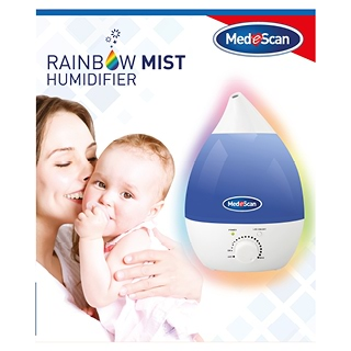 Image for Medescan Rainbow Mist Humidifier from Amcal