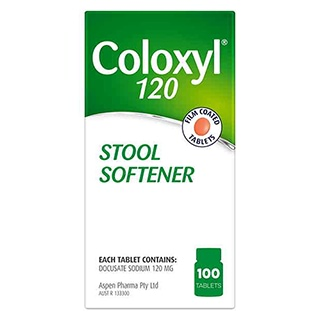 Coloxyl 120mg 100 Tablets Amcal