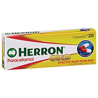 Image for Herron Gold Paracetamol - 20 Capsules from Amcal