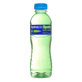 Image for Hydralyte Sports Ready to Drink Lemon Lime - 600 mL from Amcal