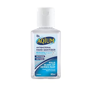 Image for Aqium Hand Sanitiser - 60mL from Amcal