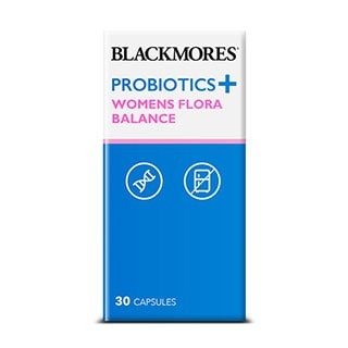Image for Blackmores Probiotics Plus Women's Flora Balance - 30 Capsules from Amcal