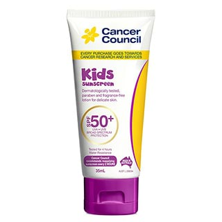 Image for Cancer Council Kids Sunscreen SPF50 - 35mL from Amcal