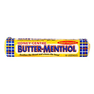 Image for Allens Butter Menthol Honey-Centre - 10 Pack from Amcal