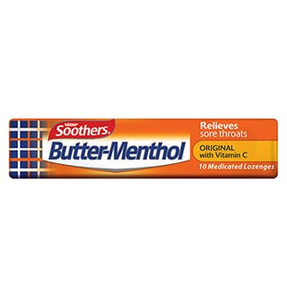 Image for Allens Butter Menthol Stick - 10 Pack from Amcal