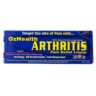 Image for OzHealth Arthritis Pain Relief Cream - 114g from Amcal