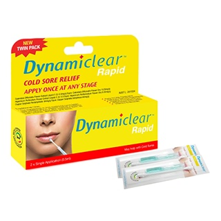Image for Dynamiclear Rapid Cold Sore Treatment - 2 Pack from Amcal