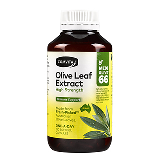 Image for Comvita Olive Leaf High Strength - 120 Capsules from Amcal