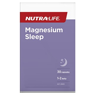 Image for Nutra-Life Magnesium Sleep - 30 Capsules from Amcal