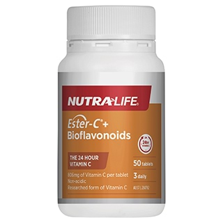 Image for Nutra-Life Ester-C + Bioflavonoids 50 tablets from Amcal
