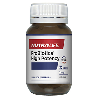 Image for Nutra-Life ProBiotica High Potency - 30 Capsules from Amcal