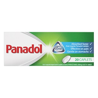 Image for Panadol Optizorb - 20 Caplets from Amcal