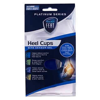 Image for Neat Feat Gel Heel Cups - Large from Amcal