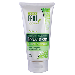 Image for Neat Feat Natural Foot, Leg, Body & Hand Moisturiser 125g from Amcal