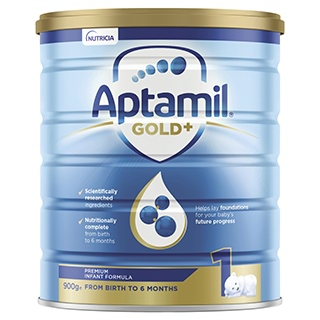 Image for Aptamil Gold+ 1 Baby Infant Formula From Birth to 6 Months - 900g from Amcal