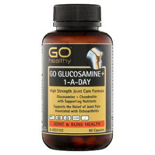Image for GO Healthy GO Glucosamine Plus 1-A-Day Capsules - 60 Pack from Amcal