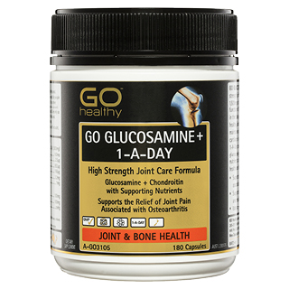 Image for GO Healthy GO Glucosamine Plus 1-A-Day Capsules - 180 Pack from Amcal