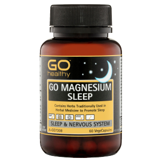 Image for GO Healthy GO Magnesium Sleep VegeCapsules - 60 Pack from Amcal