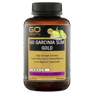 Image for GO Healthy GO Garcinia Slim Gold Capsules - 120 Pack from Amcal