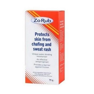 Image for Zo-Rub Anti-Chafing Cream - 75g from Amcal