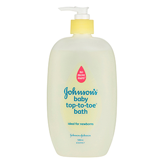 Image for Johnson's Head-to-Toe Baby Wash - 500mL from Amcal