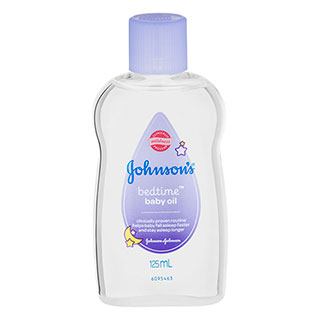 Image for Johnson's Baby Bedtime Oil 125mL from Amcal