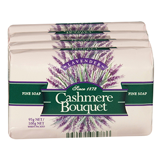 Image for Cashmere Bouquet Soap Lavender - 4 Pack from Amcal