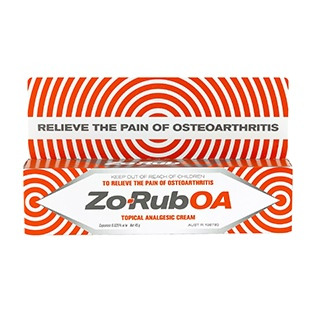 Image for Zo-Rub OA Cream - 45g from Amcal